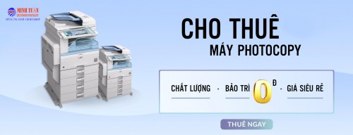 Dịch vụ cho thuê máy photocopy uy tín, chất lượng tại Minh Tuấn - Tin Tức