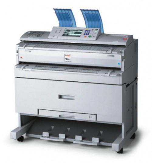 máy Photocopy A0 Ricoh Aficio MP3600W - Máy photocopy Khổ Lớn